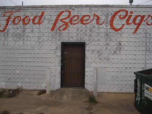 Food Beer Cigs