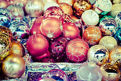 Christmas is the season when you buy this year's gifts with next year's money~ (Pink Pixel Photography (f.k.a. Sunny)) Tags: christmasmarket canonef50mmf18 christmasdecoration baubles niftyfifty canoneos7d happyscarletsunday wwwpinkpixelat pinkpixelphotography happyfirstofadvent gettyholidays2010