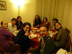 cena a casa Davidaola