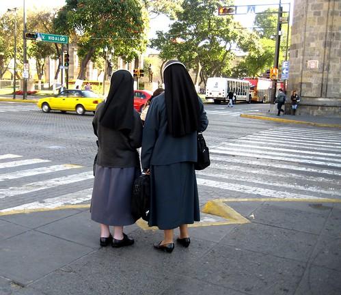 nuns at the cathedral