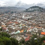 Quito: vista del Centro Histórico con el Panecillo al fondo