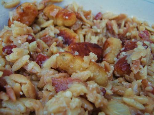 orzo pasta w/ ricotta gnocchi - 05