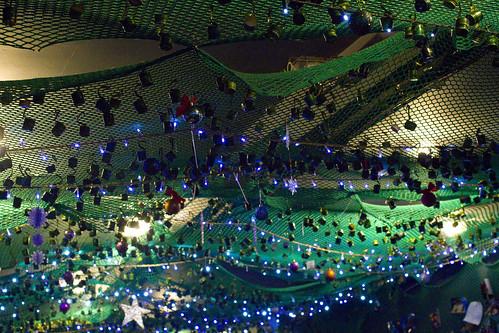 ceiling at Pocha 32 (2)
