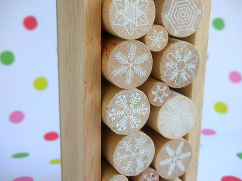 Snowflake stamps