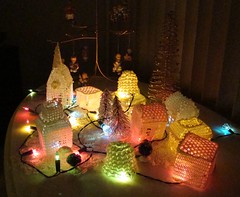 Family Tradition (Sandy*S) Tags: christmas village crochet ansh scavenger27