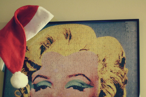 Marilyn Ready for Christmas