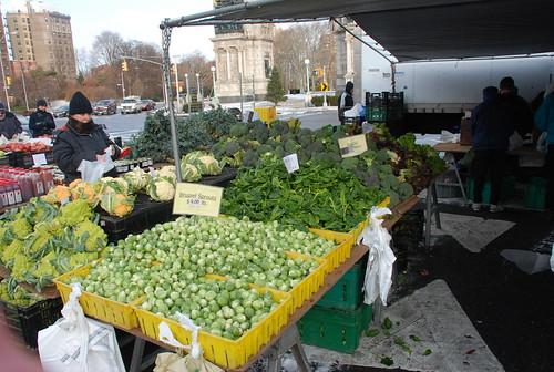 plenty of green things still at the Greenmarket