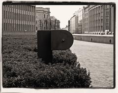 P (frode skjold) Tags: bw oslo norway norge hedge p twop nikone4200 akersgata regjeringskvartalet hekk