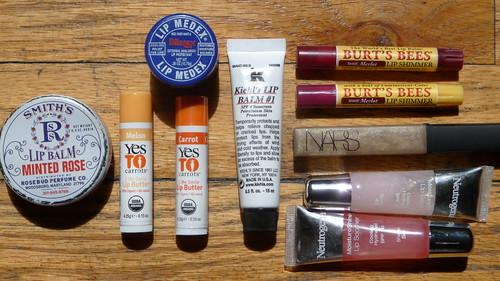 Lip balm/gloss junkie