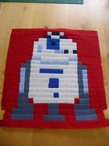 R2D2 - All pieced and ready to quilt!