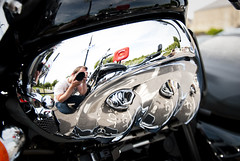 Triumph Rocket III (Simon Didmon) Tags: 3 bike lens nikon shiny iii motorbike chrome triumph rocket vr 23l 18105mm d3000