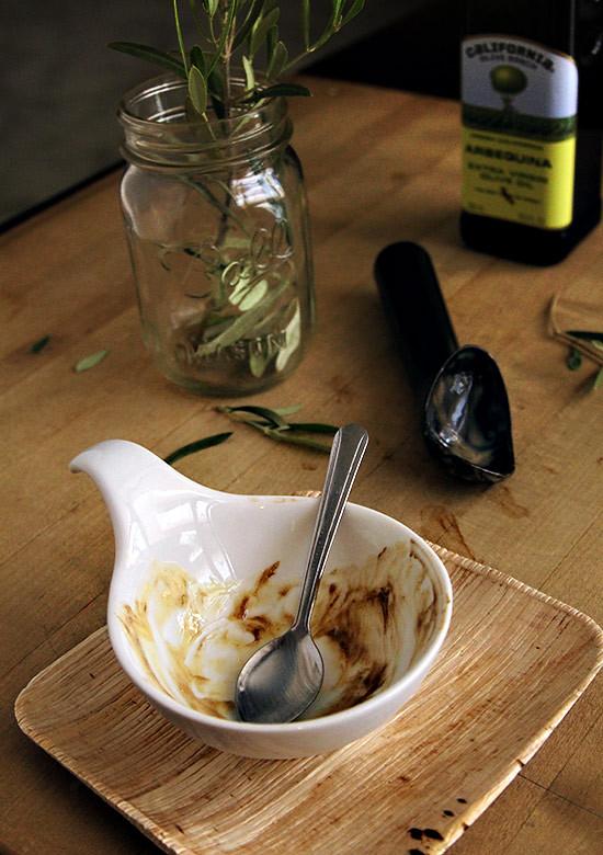 olive oil gelato