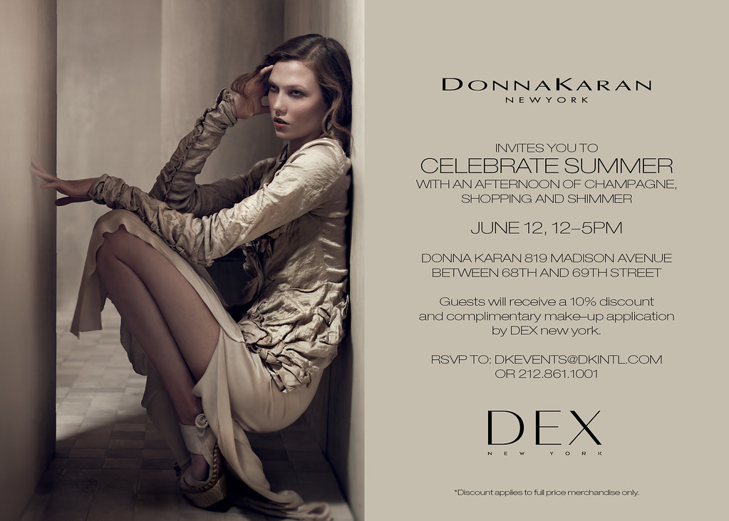 DEX New York & Donna Karan Event