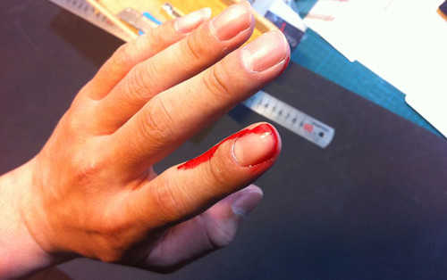 Bloody Finger