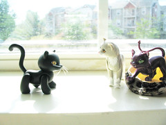 And then there were Three (freetre) Tags: hat monster cat toy high market crescent figure flea bratz
