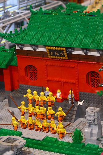 Custom minifig Shaolin Monastery