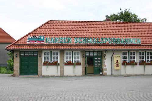 HSB: Empfangsgebäude des Bahnhofs Wernigerode