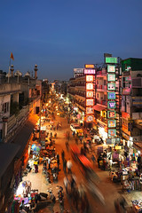 An evening at Shahganj (Ashmalikphotography) Tags: shahganj shahjahan paharganj mughalera delhi dellybeli bluehour evening longexposure ashmalikphotography