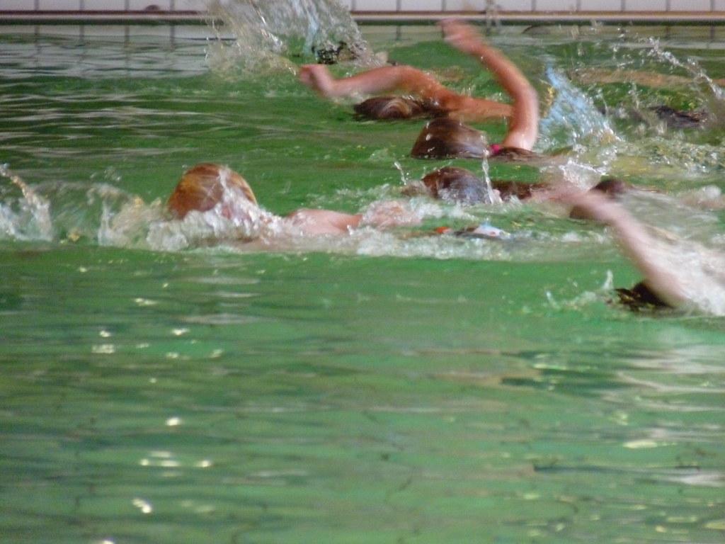 afzwemmen