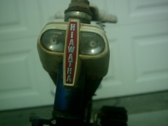 PHOT0005 (Raidertofrog) Tags: bicycle vintage antique headlight hiawatha tankstyle