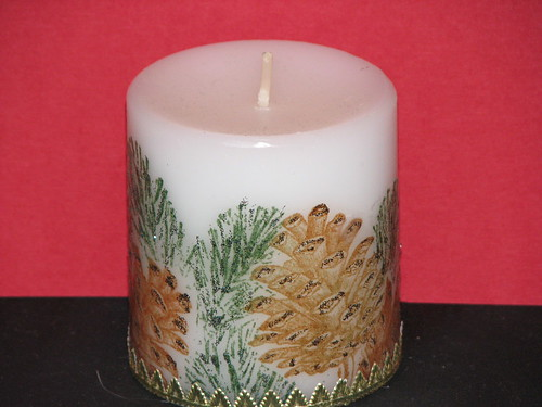 Stamped TIssue Candles 006