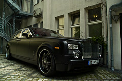 Pimp Rolls Royce Phantom (Pablo F. Alcocer) Tags: black berlin car germany royal sigma exotic rolls mm pimp phantom 18200 royce spotting kk matte supercars tuned sd14