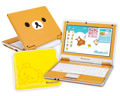 "Super-Cute RilakKuma ""Relax Bear"" Netbook"