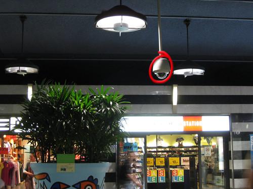Videokamera, Shopville HB Zürich