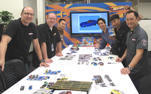 Hot Wheels Design team