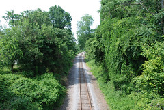 railroad track running by City Point (PoetC7) Tags: virginia hopewell railroadhopewellvirginia