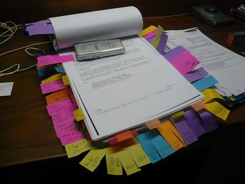 Intense Color Coded Notes by mandiberg