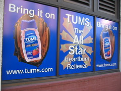blue sign stlouis advertisement missouri saintlouis tums