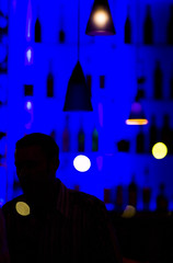 I've Forgotten Your Name Again (Thomas Hawk) Tags: california blue usa bar night losangeles unitedstates 10 unitedstatesofamerica es pasadena southerncalifornia oldtownpasadena coloradoblvd fav10 gettyartistpicksoct09