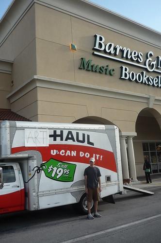 Final stop: Barnes & Noble