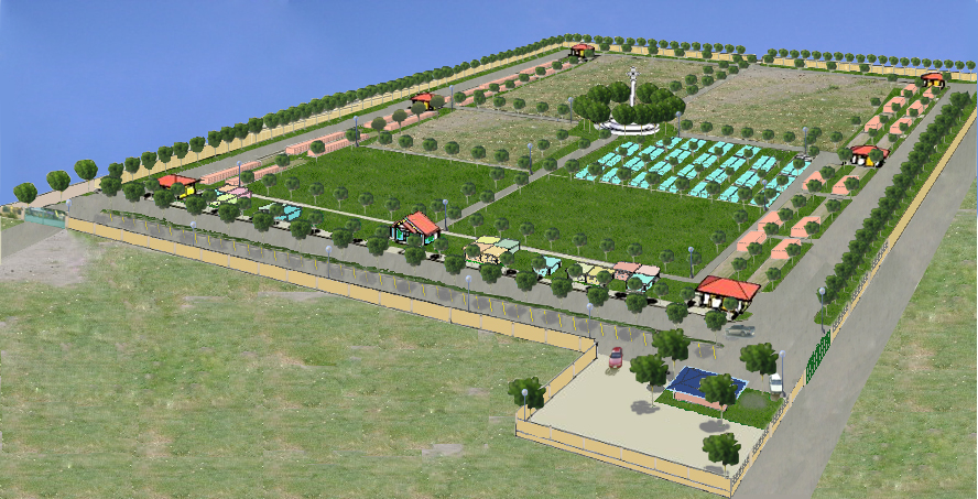 The proposed GenSan City Memorial Park