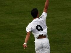 Cristiano Ronaldo Celebrates goal (Salomon Salvador) Tags: goal 9 friendly cristianoronaldo tfc mls rm realmadrid laliga soccerfootball torontofc cr9 bmofield losmerengues