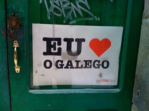 Amo o galego