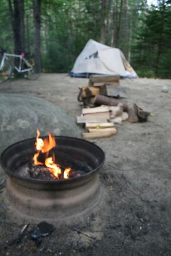 Campsite Maine
