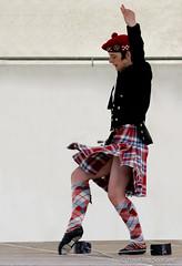 Sword Dance (FotoFling Scotland) Tags: highlanddance ryanmcinnes shottshighlandgames2008 dance kilt sworddance