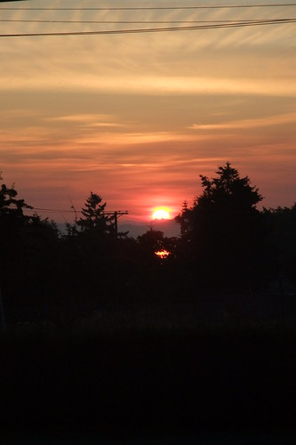 Sunrise on West Saanich Road