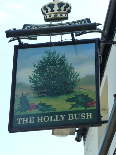 Holly bush sign 041