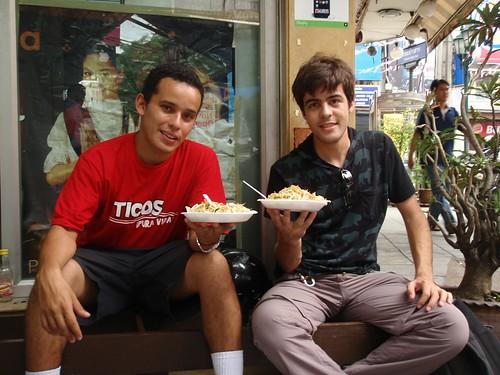 Comida en Khaosan Road