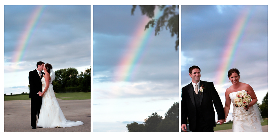 wedding rainbow