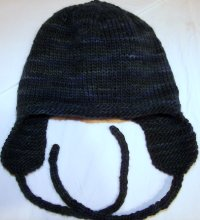 Ear Cozy Hat<BR> Toddler size <BR>by Debi