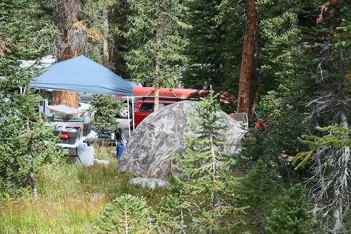 Trial Lake campsite