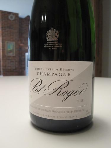 Pol Roger champagne - $64.25