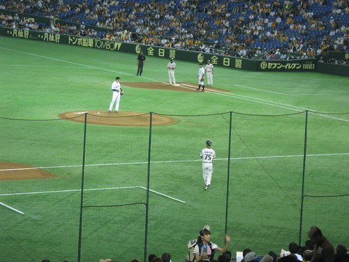 The dome is a nice primer on Japanese baseball, but why does it have to be so hot inside?