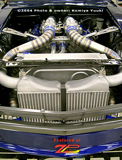 Ok. You want serious power? How about a turbocharged Q45 motor?