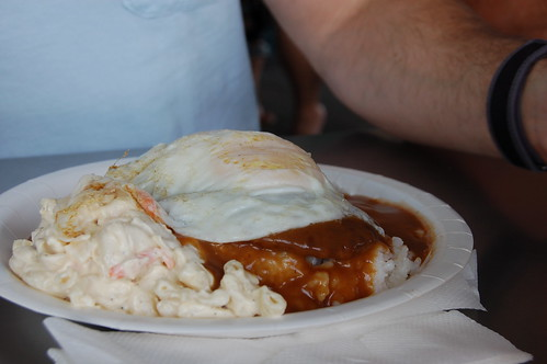 Loco Moco at Rainbow Drive-In