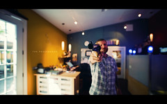 The Peacemaker (isayx3) Tags: portrait guy film studio beard lights nikon gun dof angle bokeh wide sigma scene pistol 365 ultra f28 d3 firearm armed 14mm plainjoe isayx3
